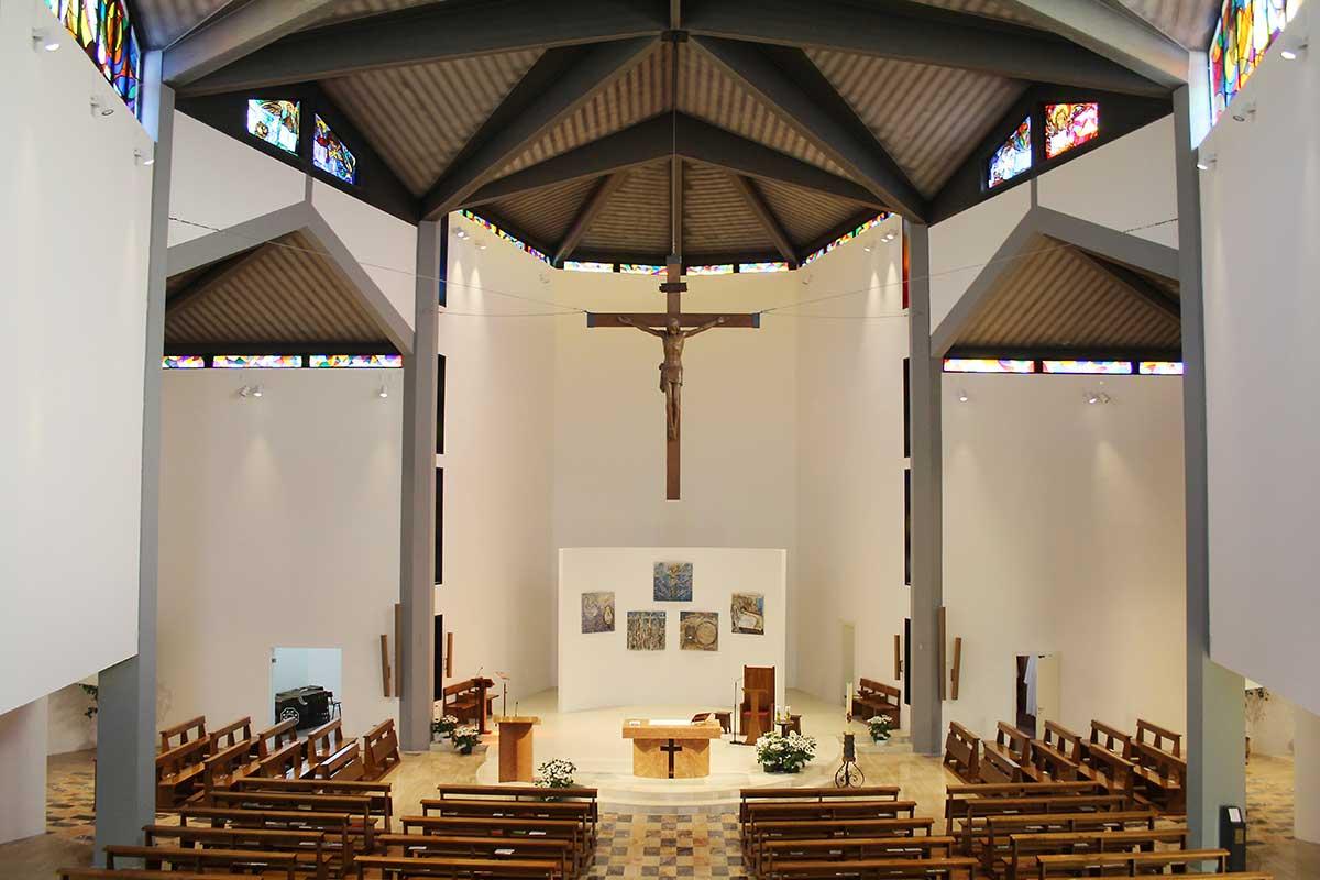 Architetto Bassano Del Grappa adeguamento liturgico chiesa di san marco evangelista